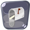mail, Massage, Mailbox DimGray icon