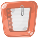 Massage, Note, Notes IndianRed icon
