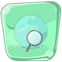 Browser, earth LightGreen icon