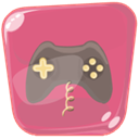Game, entertainment, Games PaleVioletRed icon