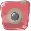 photo, Camera, photography IndianRed icon