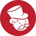 Monopoly, red Firebrick icon