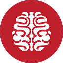 red, Games, Brain Firebrick icon