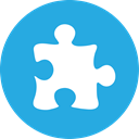 Puzzle DodgerBlue icon