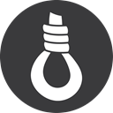 grey, Game, hangman DarkSlateGray icon