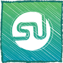 su, Stumble upon, stumble MediumSeaGreen icon