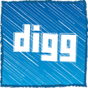 dugg, Digg DarkCyan icon