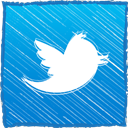 twitter, tweet, retweet DodgerBlue icon