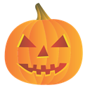 pumpkin, halloween Coral icon