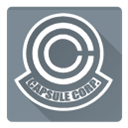 corporation, dragon ball, capsule corporation, Capsule LightSlateGray icon