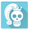 one piece, vivi SkyBlue icon