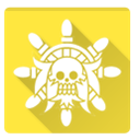 golden lion, Golden, one piece, lion Gold icon