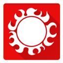 one piece, sun pirates Red icon