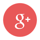 plus, google, red, Social, Google+, Circular IndianRed icon