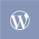 Wordpress, Social LightSlateGray icon