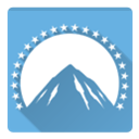 Pictures, Paramount CornflowerBlue icon