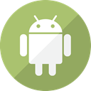 Communication, system, Mobile, Android, Social, phone, telephone, robot DarkKhaki icon
