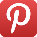 pinterest, interest Firebrick icon
