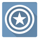 Captain, America, c america CadetBlue icon