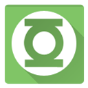 green latern, Lantern, green DarkSeaGreen icon