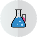 test-tube, lab Gainsboro icon