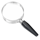 magnifying glass, search, Look up Black icon