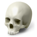people, hospital, life, skull, Human, Account, doctor, poison, Avatar, health, smile, Skeleton, care, smiley, healthcare, Face, Scull, head, medical, halloween, medicine Black icon