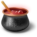 soup, Restaurant, horror, scary, dinner, kitchen, Bowl, Coffee, Dead, cup, drink, halloween, beverage, tea, glass, boiler, creative, Achievement, Cook, Eating, Cooking, Cauldron, death, trophy, food DarkSlateGray icon