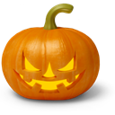 Celebration, tale, Game, Holiday, shape, vegetable, warning, halloween, fear, horror, light, jack o lantern, power, play, Games, fire, tasty, pumpkin, scary, crisp, Devil, food, Hungry, story, evil Chocolate icon