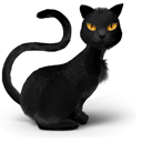 pet, catty, danger, problem, Cat, Black, spooky, Avatar, Animals, phh, head, kitty, halloween, tomcat, horror, lovely, Pussy, monster, Animal, scary, evil, Fantasy Black icon