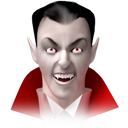 death, awful, nightmare, monsters, jack, Cut, Dream, monster, Lantern, Businessman, bat, Dead, halloween, horror, Dracula, hollywood, spooky, kill, killer, scary, vampire, murder, Avatar, Devil, Blood, drink, evil Black icon