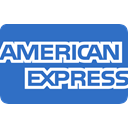 express, payment, american, card, method RoyalBlue icon