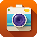 Pictures, photo, Camera DarkOrange icon