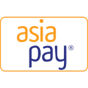Asiapay, checkout, money transfer, card, payment method, Service, online shopping Black icon