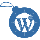 christmas, Ball, Wordpress SteelBlue icon