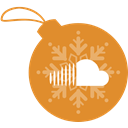 sound, christmas, Cloud, Ball Peru icon
