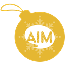 Ball, Aim, christmas Goldenrod icon