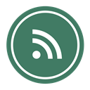 feed, News, Rss, subscribe SeaGreen icon
