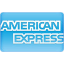 express, american SkyBlue icon