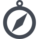 Direction, Browser, nevigate, compass, navigation DarkSlateGray icon