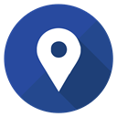 Pointer, google map, pin, Map, google DarkSlateBlue icon