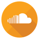 sound, soundclouds, Soundcloud, Cloud Orange icon
