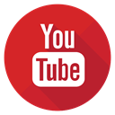 you tube, youtube, tube Crimson icon