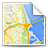 Map CornflowerBlue icon