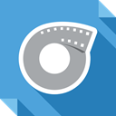 Social, social media, Filmow, square, Logo, media CornflowerBlue icon