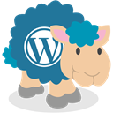 social network, Wordpress, Sheep DarkCyan icon