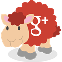 social network, google plus, Sheep, Gplus Icon