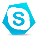 Call, voip, Skype DarkTurquoise icon