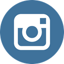 socialnetwork, Instagram SteelBlue icon