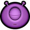 halloween, monster, Alien, Avatar, monsters, Cyclops, Sleeping MediumOrchid icon